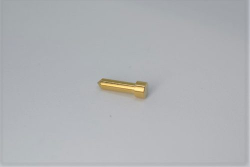 Duplex valve pin for release screw