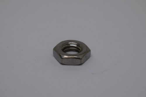 Nut for infusion cuff gauge
