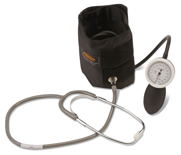 Accoson Combine Self Test - Aneroid Sphygmomanometer & Stethoscope